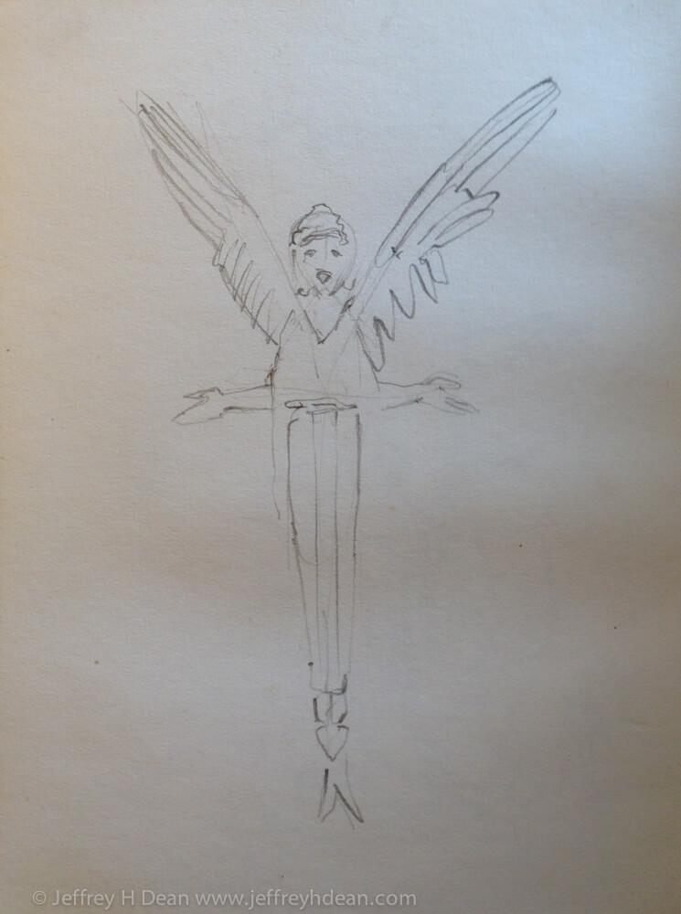 Sketch from Basilica di Porta Maggiore