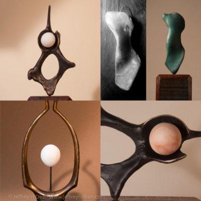 Organic Abstract Sculpture