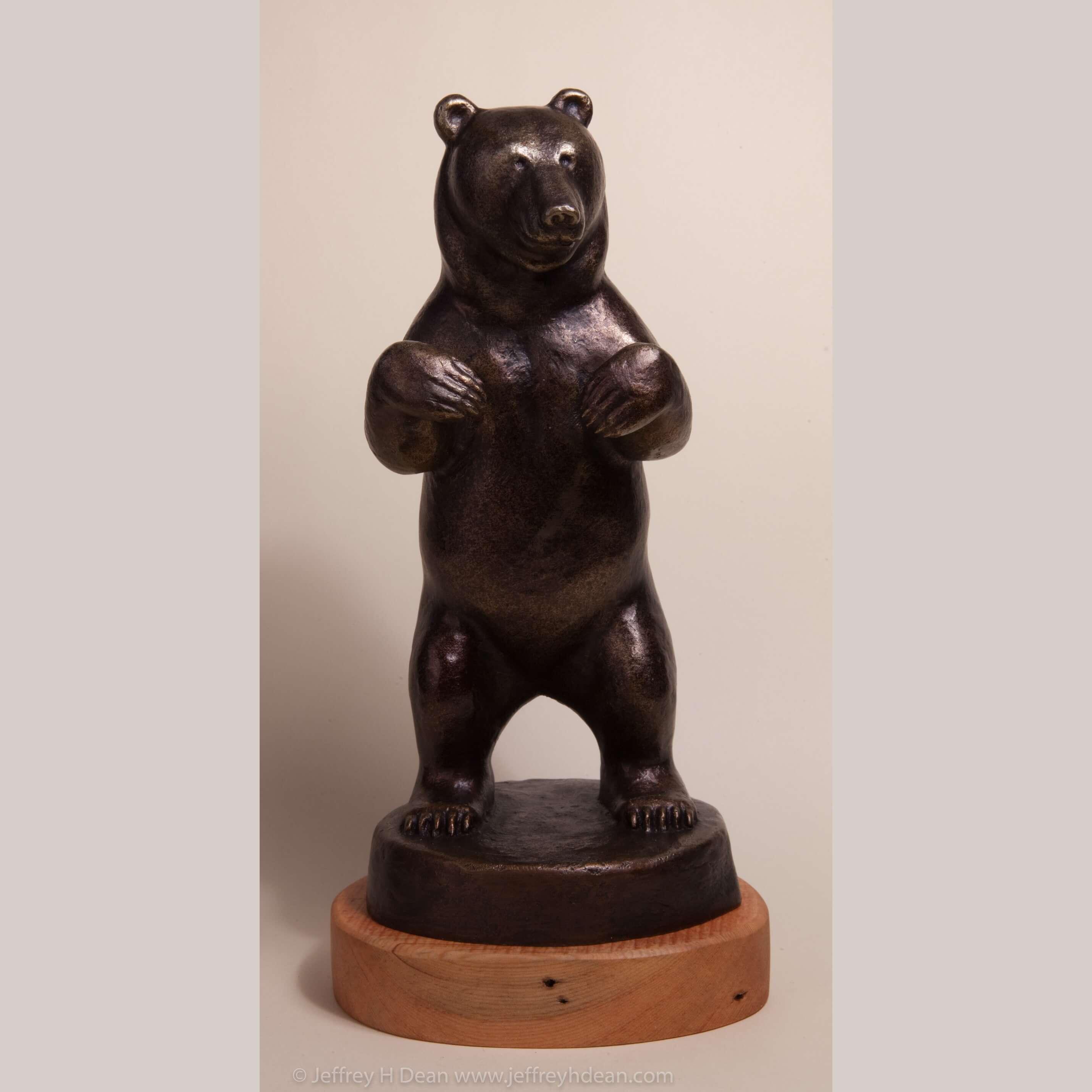 Standing Grizzly Bear - Jeffrey H Dean