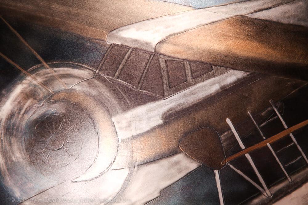 Detail of Norseman bushplane.